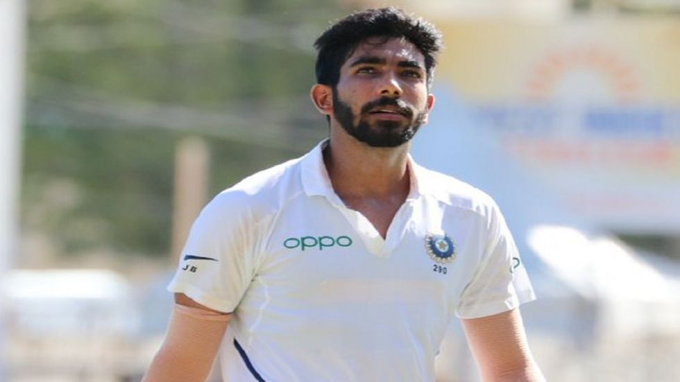 Jasprit Bumrah has been ruled out of the three-match Test series against South Africa due to a stress fracture on his back. (Image credit: Jasprit Bumrah Twitter)