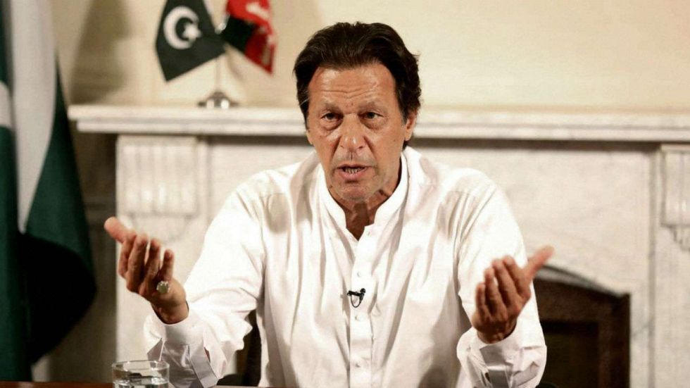 Imran Khan was addressing a press conference in which he acknowledged India's growing stature. (PTI File Photo)