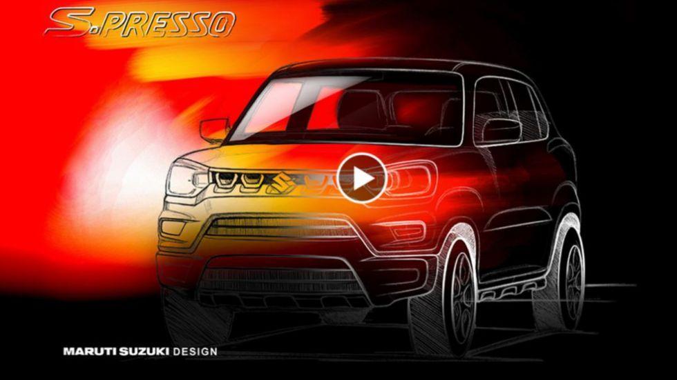 Maruti Suzuki S-Presso launch on September 30 (Photo Credit: marutisuzuki.com/screenshot)