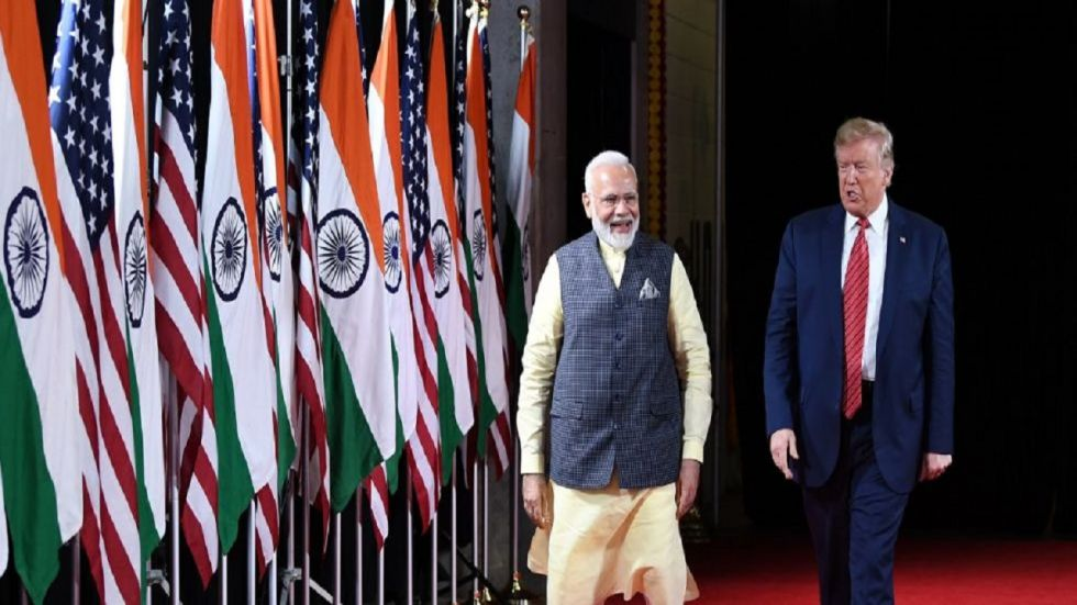 The two leaders discussed progress on different aspects of their strategic partnership. (Image: @narendramodi)