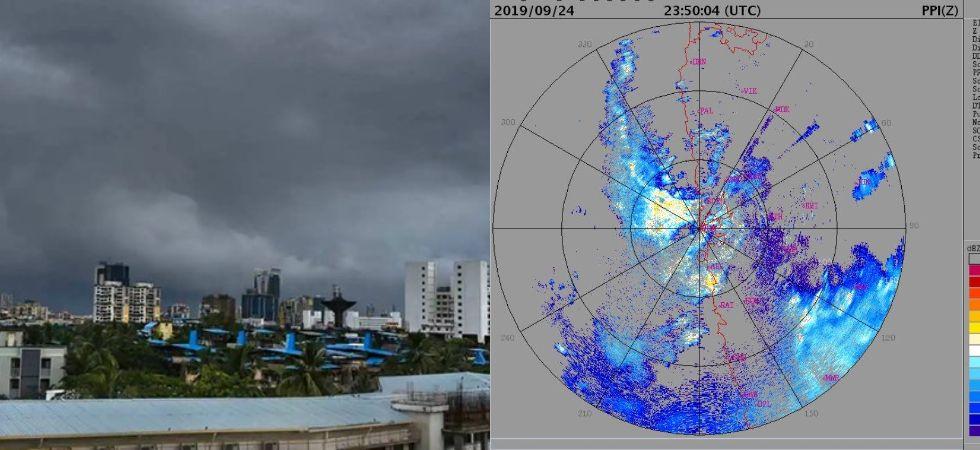Mumbai Rains: Mumbaikars Wake Up To Heavy Downpour (Photo Credit: Twitter/@pawan8092/@ANI)