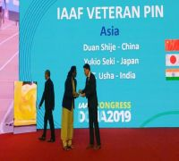 PT Usha Awarded Yet Another Achievement, IAAF Rewards Her With Veteran Pin