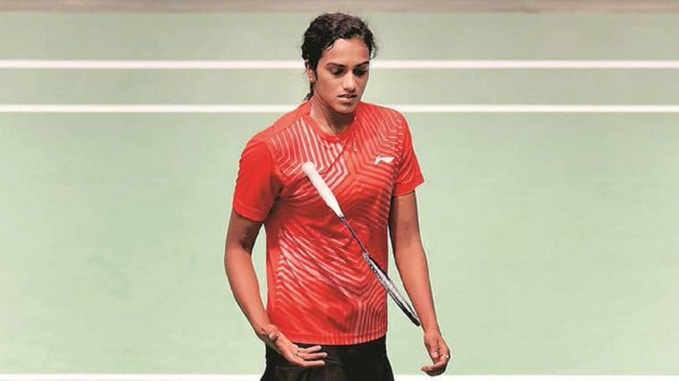 PV Sindhu had lost to Beiwan Zhang twice last year at the India Open and Denmark Open. (Image credit: Twitter)