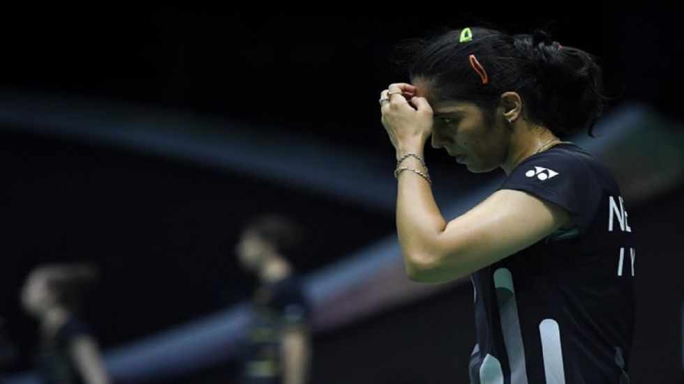 Saina Nehwal was plagued with a gastric illness during the Korea Open Badminton tournament. (Image credit: Twitter)