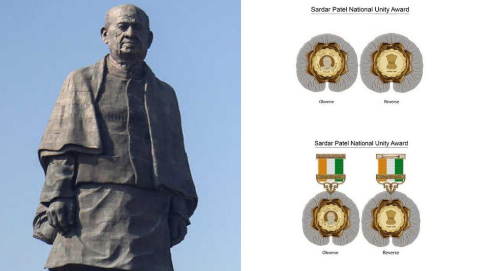 Government creates Sardar Patel National Unity Award, to honour contribution towards national integrity