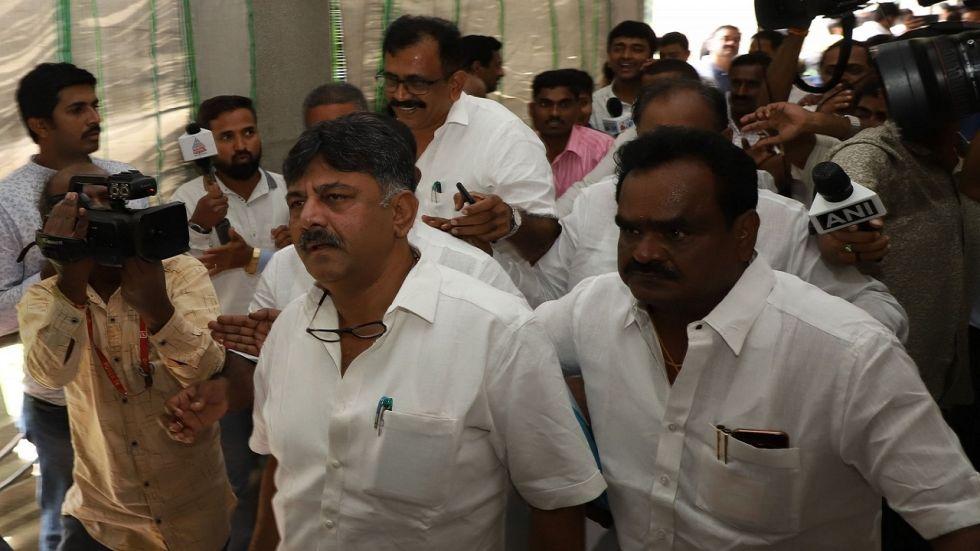 Congress leader DK Shivakumar (File Photo)