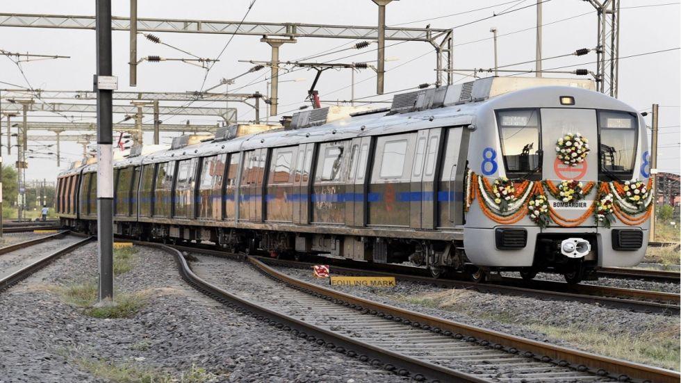Delhi Metro Grey Line (File/Twitter Photo)