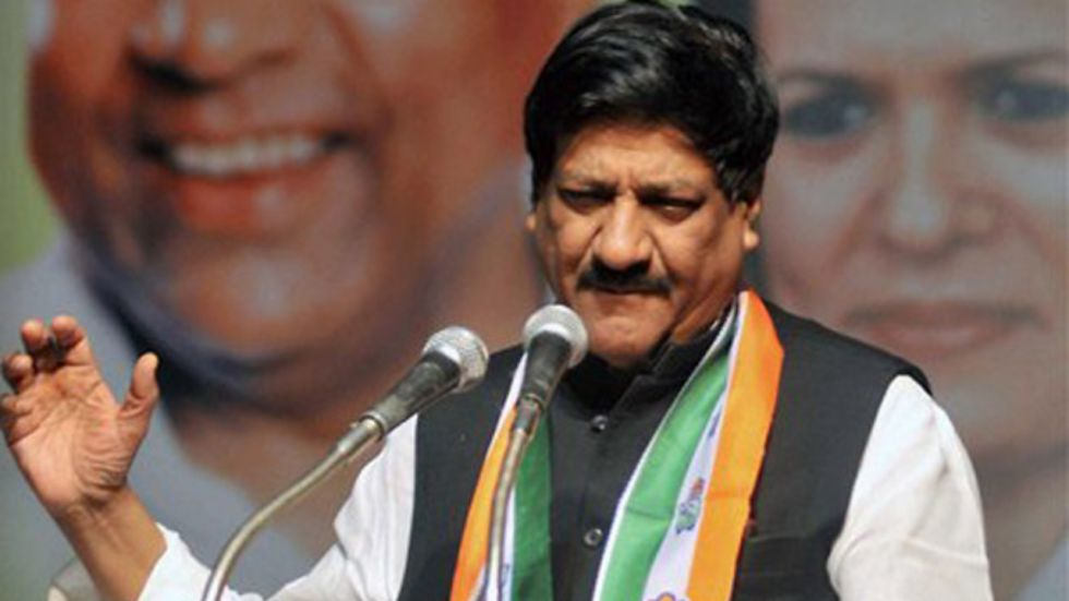 Prithviraj Chavan expressed confidence that the Congress-NCP combine would retain Satara in the bypoll (Image: PTI)