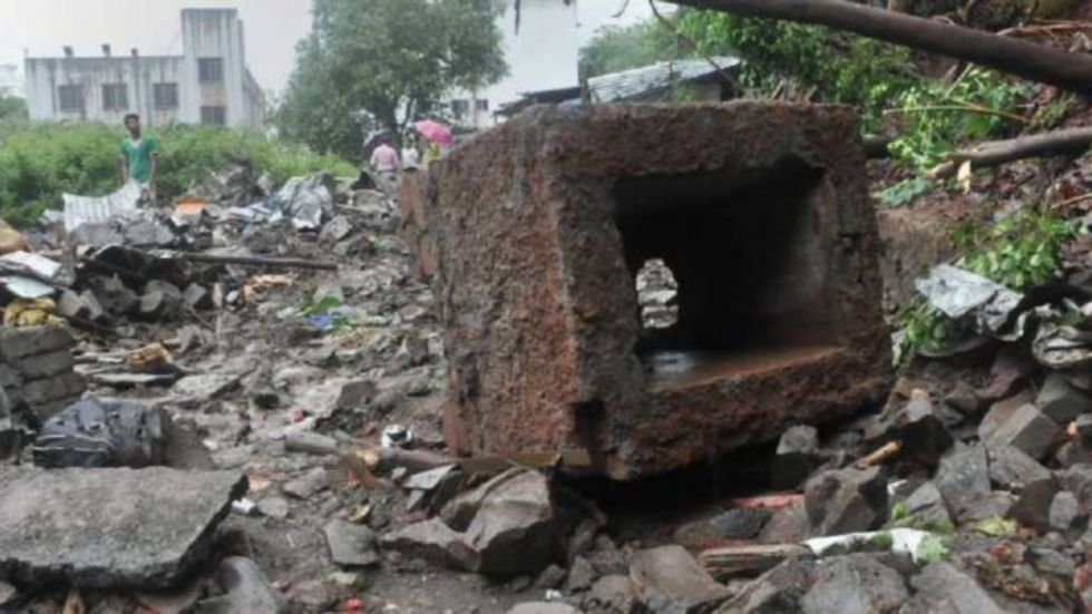 Five killed after wall collapsed in Pune's Sahakar Nagar (Photo Credit: PTI)