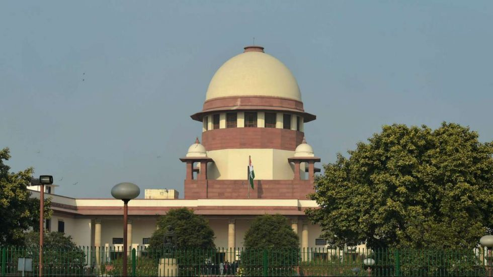 Thursday is the 32nd day in the day-to-day hearing by the Supreme Court bench in the case (Image: PTI)