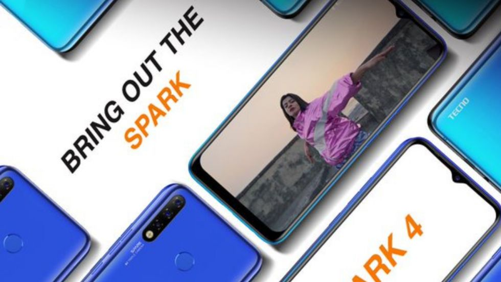 Tecno Spark 4 smartphone launched in India (Photo Credit: Twitter/@TecnoMobileInd)