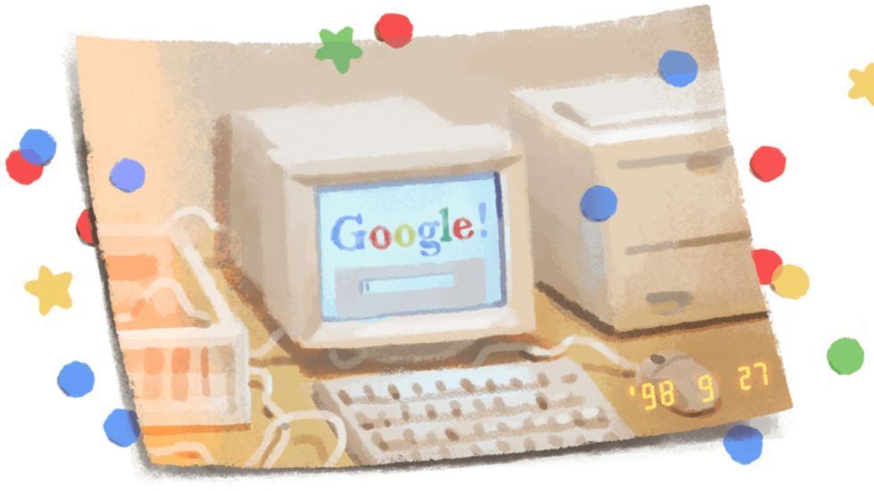 Happy Birthday Google: Search Engine Celebrates 21st Birth Anniversary With A Doodle (Photo Credit: google.com/doodles)