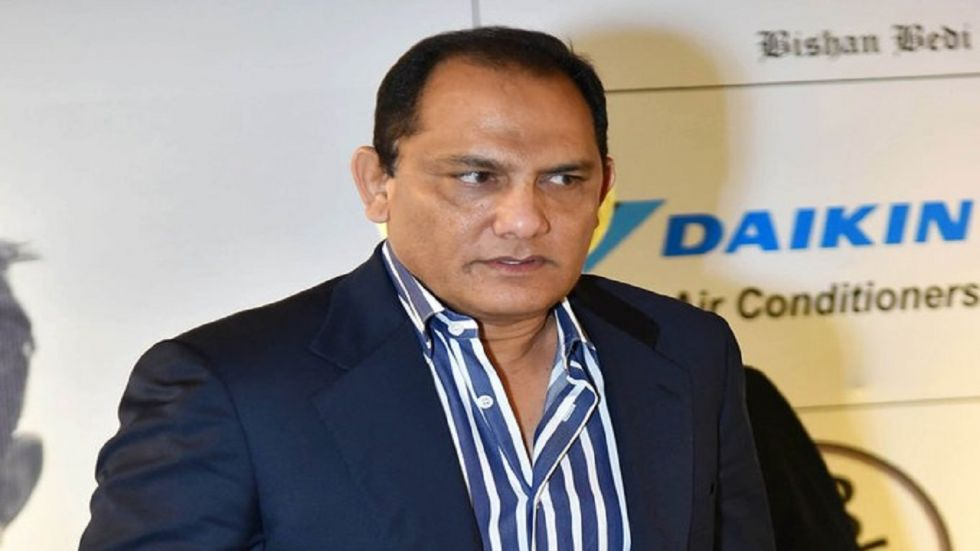 Mohammad Azharuddin has also served as the member of parliament from Moradabad in Uttar Pradesh, led India to a spate of Test series wins over England, Sri Lanka and Zimbabwe at home in the 1990s. (Image credit: Twitter)