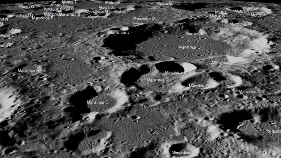 NASA Releases High-Resolution Images Of Chandrayaan 2 Landing Site (IMAGE: NASA Twitter Handle)