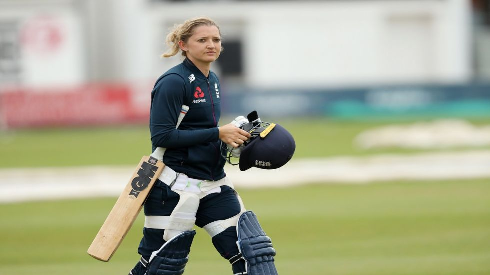 Sarah Taylor made her debut in 2006 against the India Women's Cricket Team in Lord's. (Image credit: Getty Images)