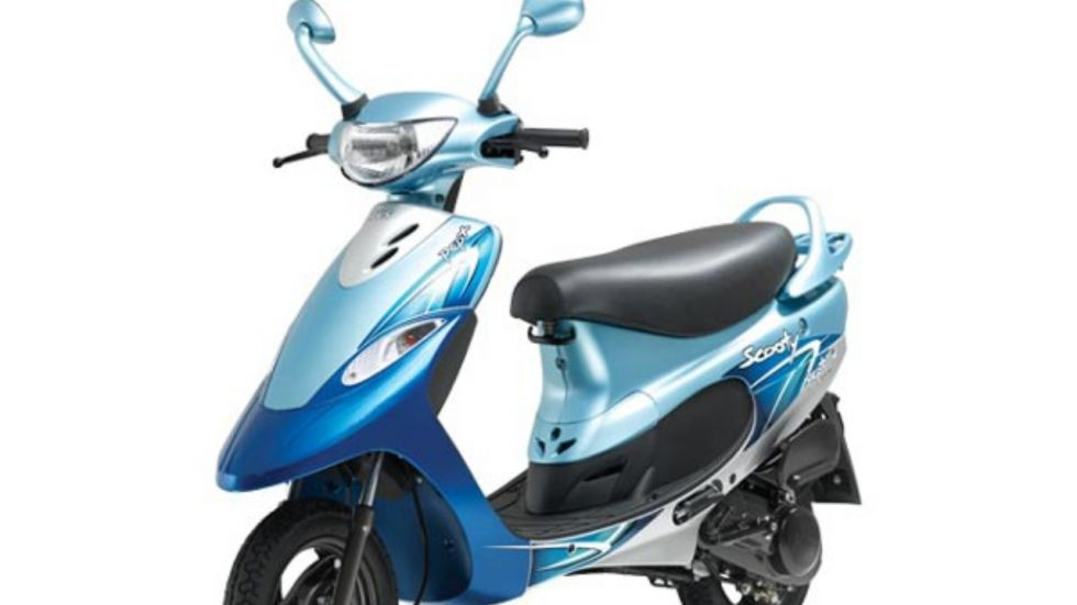 TVS Scooty Pep+ Matte Edition Launched In India (Photo Credit: Twitter)