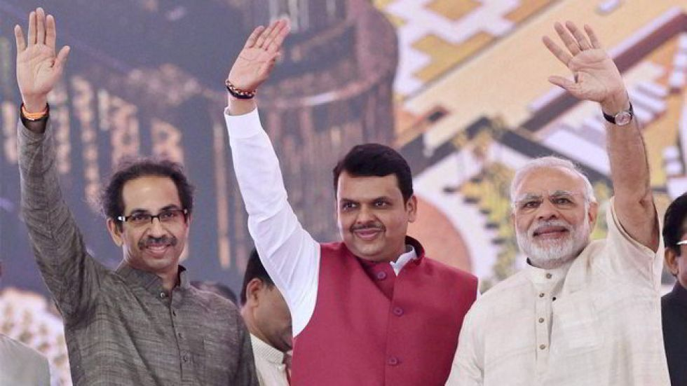 BJP-Shiv Sena seat sharing arrangement is expected to be announced on Sunday after the end of Pitru Paksha (Image: PTI)
