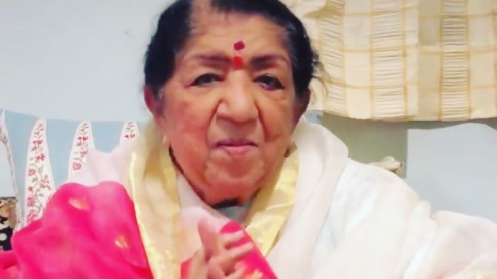 Happy Birthday Lata Mangeshkar. (Image: Instagram)