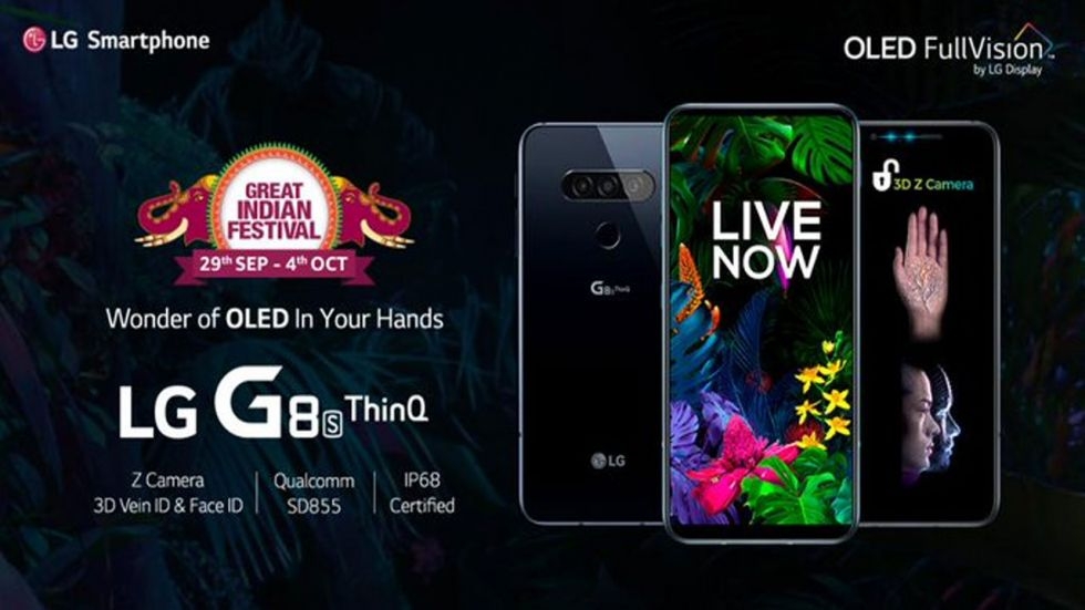 LG Launches G8s ThinQ Smarphone (LG India Twitter)