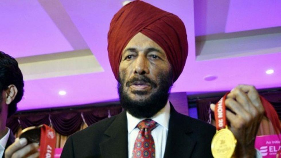 Milkha Singh has said if India are to win a gold in the Olympics have to win a medal in the Olympics, India will have to keep the athletes at one place and train them. (Image credit: Twitter)