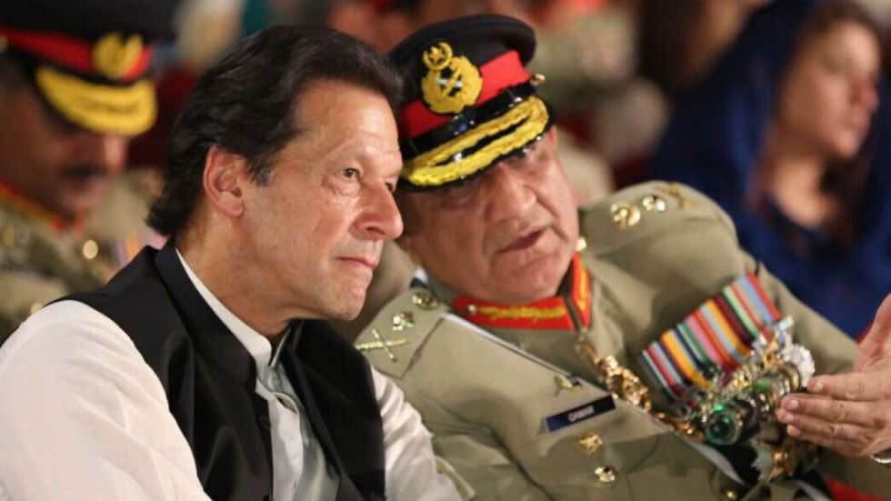 India slammed Imran Khan and Pakistan Army for their treatment of its minority population (Image: Twitter)