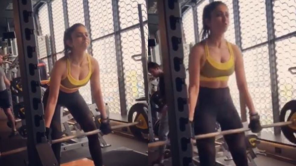 Rakul Preet Nails 80kgs Deadlifts In This New Fitness Video And We Are Pretty Impressed!