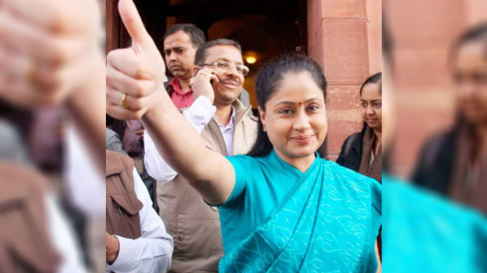 BJP leaders want Vijayashanti to campaign for the party in 15 to 20 Assembly constituencies in Maharashtra. (File Photo: Facebook)