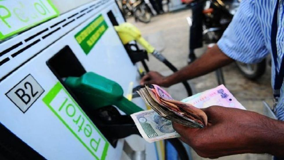 The rate of petrol in Noida was Rs 75.77 a litre while diesel was selling at Rs 67.56 a litre