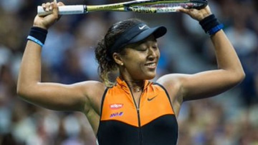 Naomi Osaka was disappointed that she was unable to replicate the form which won her the Pan Pacific Open in Japan. (Image credit: Twitter)