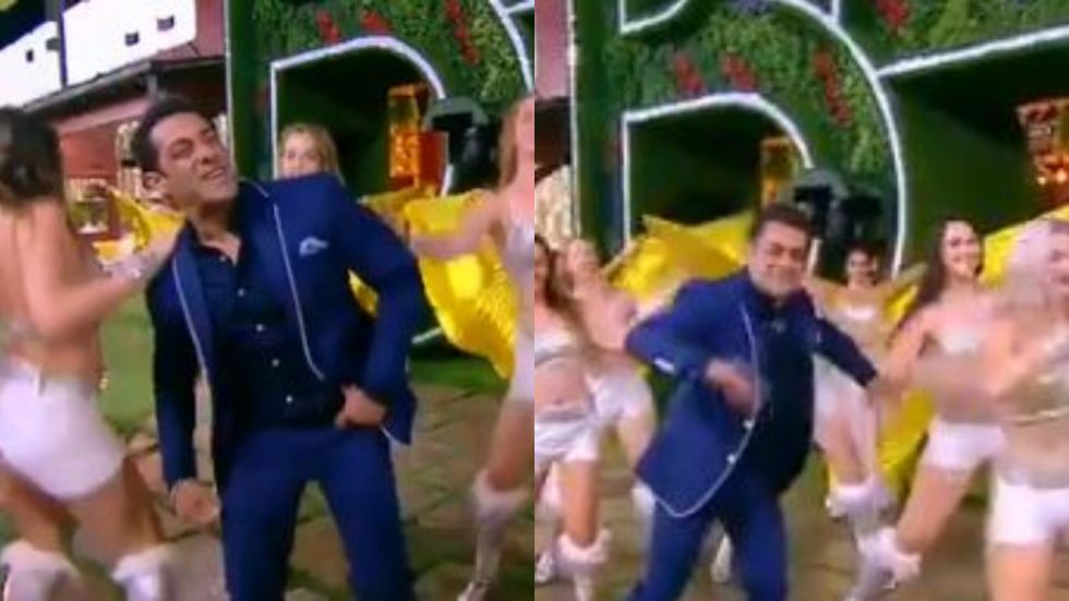 Salman Khan's Dance Performance On 'Slow Motion'. (Screengrab from Twitter)