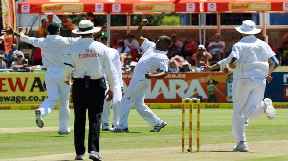 Vernon Philander has said South Africa should throw the first punches at India in the upcoming three-Test series. (Image credit: ICC Twitter)