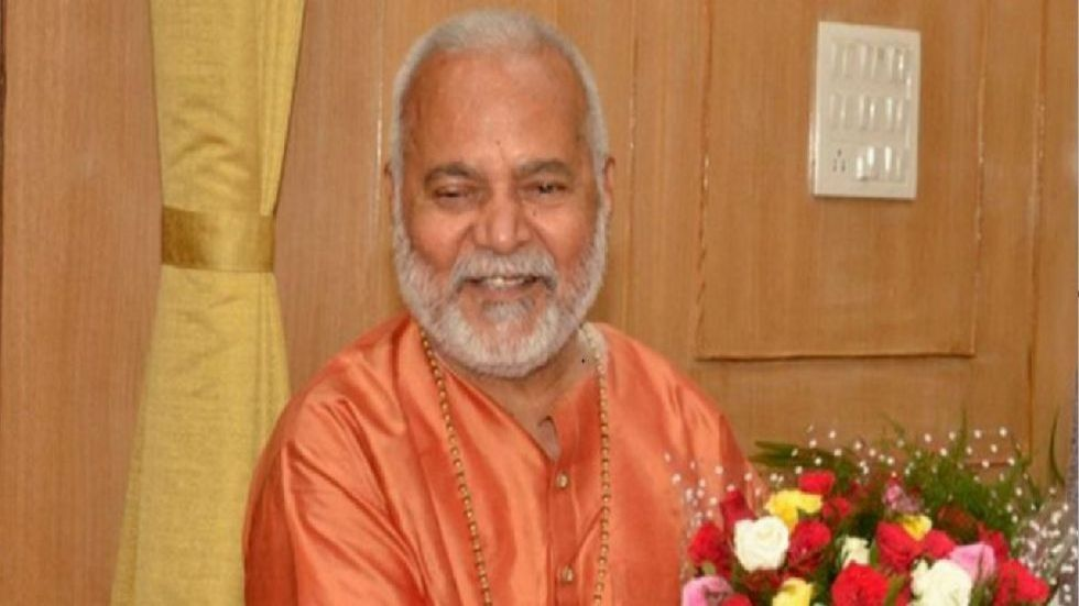 Former Union minister and BJP leader Swami Chinmayanand (File Photo)