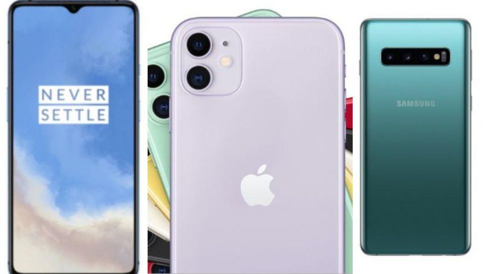 OnePlus 7T Vs Apple iPhone 11 Vs Samsung Galaxy S10: Comparison (File Photo)