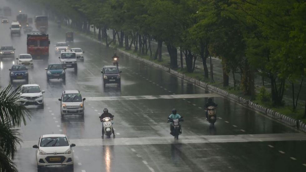 """On Monday morning, the Central Pollution Control Board (CPCB) recorded the city's air quality index at 55, which falls in the """"satisfactory"""" category."""