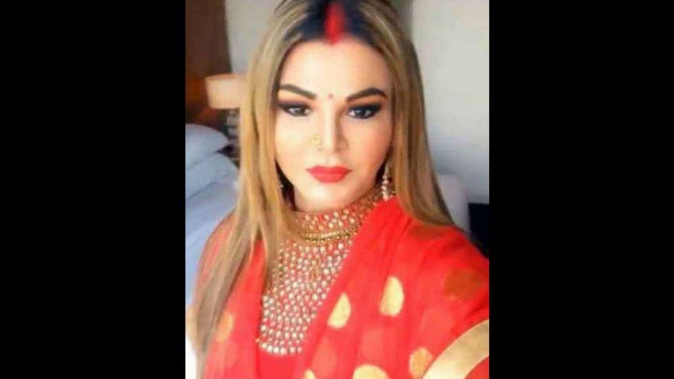Rakhi Sawant announced her marriage to UK-based businessman Ritesh in August (Image: Rakhi Sawant/Instagram)