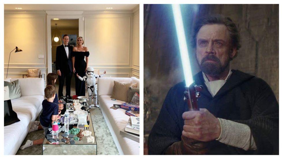 Mark Hamill Roasts Ivanka Trump's 'Star Wars' Family Photo (Photo: Twitter)