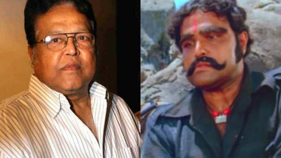 Viju Khote's most popular role was the dacoit Kalia in film Sholay (Image: Twitter)