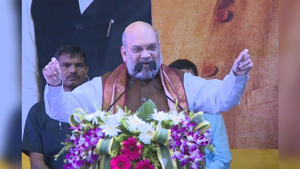 Union Home Minister Amit Shah (ANI/Twitter)