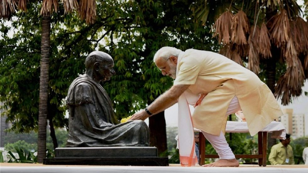 PM Modi will visit the Sabarmati Ashram to pay tributes to the Father of the Nation. (Photo: File/PTI)