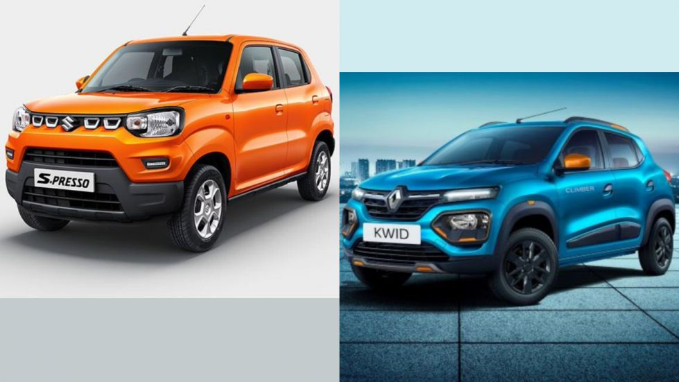 Maruti Suzuki S-Presso Vs 2019 Renault Kwid Facelift: Specs, Features, Price Compared (File Photo)