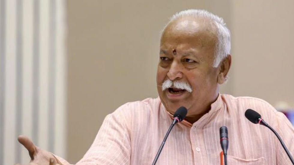 Rashtriya Swayamsevak Sangh (RSS) chief Mohan Bhagwat (File Image)