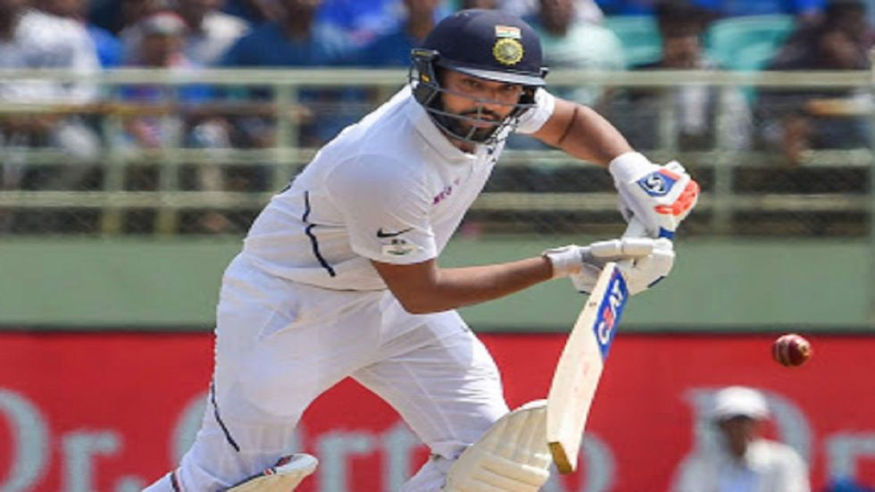 Rohit Sharma hammered his first century as an opener in the Indian cricket team during the Vizag Test vs South Africa. (Image credit: PTI)