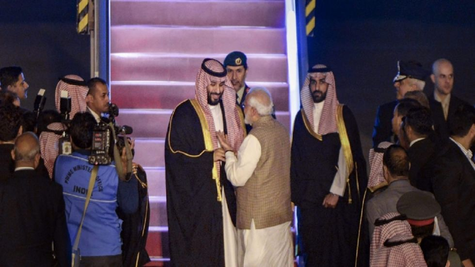 National Security Advisor Ajit Doval and Saudi Crown Prince Mohammed Bin Salman met on Wednesday. (File)