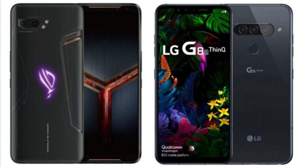 Asus rog phone 2 Vs LG G8s ThinQ