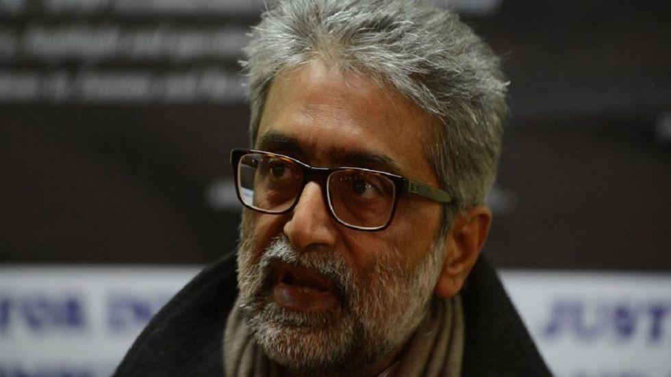 Civil rights activist Gautam Navlakha