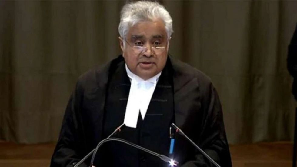 Senior Indian lawyer Harish Salve