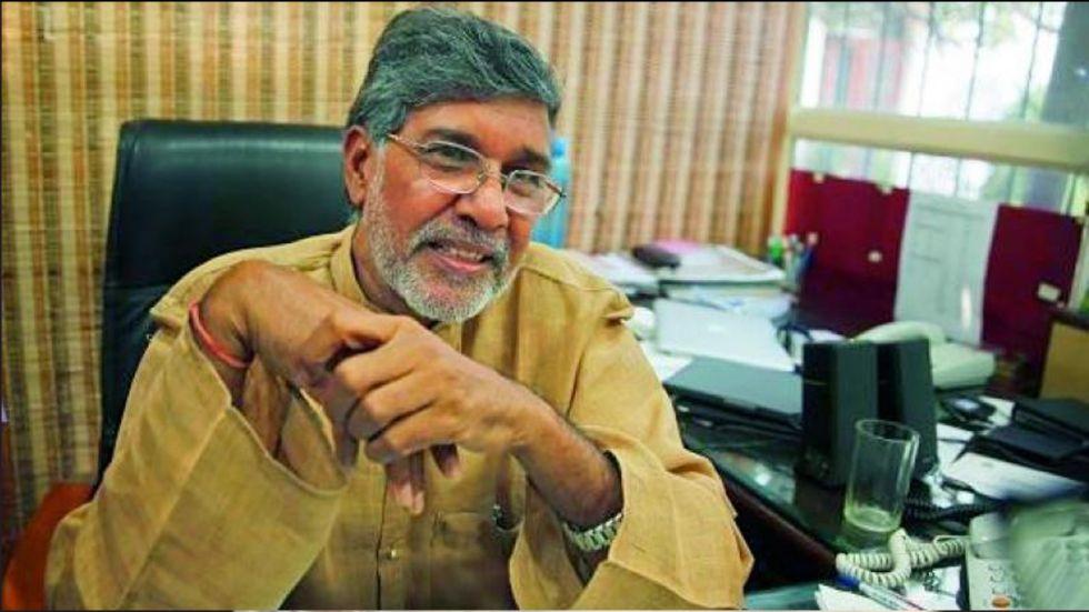 Nobel Peace Prize winner Kailash Satyarthi
