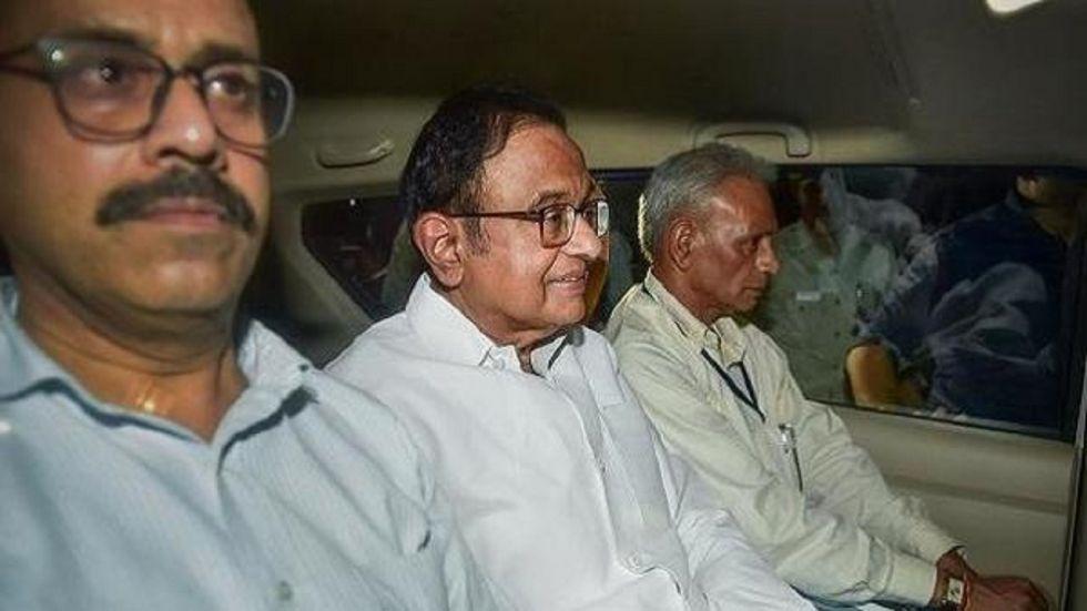 Former finance minister P Chidambaram. (File)