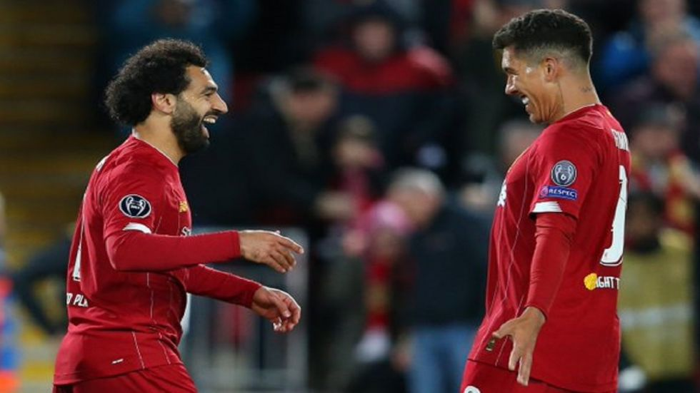 Mohamed Salah proved to be the difference as Liverpool managed to win 4-3 against Salzburg in the UEFA Champions League despite blowing a 3-0 advantage. (Image credit: Twitter)