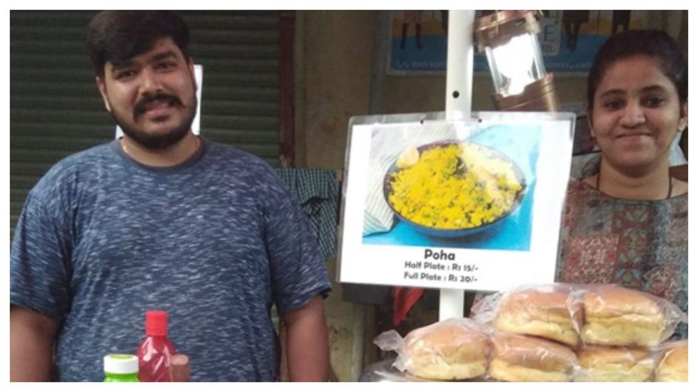 Couple Set Up Food Stall To Help 'Ailing Maid'